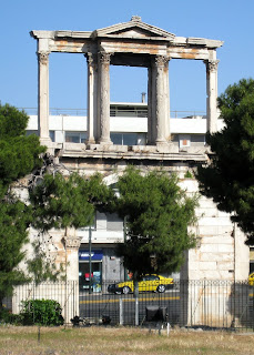 Athens, Greece - Hadrian's Arch