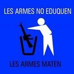 Estic en contra de les armes