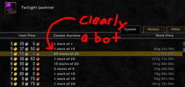 player auction house