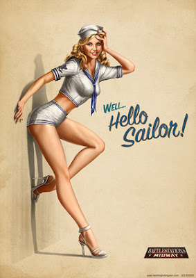 pin up cartoon