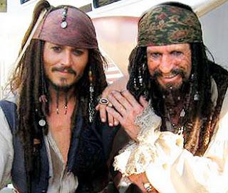 johnny depp keith richards pirati