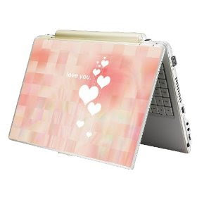 Pink Skin Sticker Laptop Notebook Love