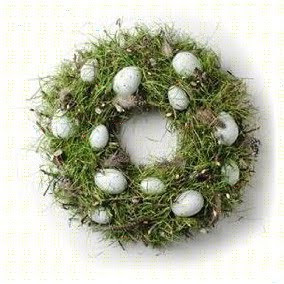Unique Easter Egg Wreath – Easter's Gift