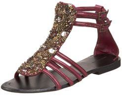 Beaded Gladiator Sandal