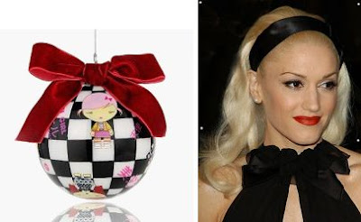 Harajuku Lovers by Gwen Stefani Christmas Ornament