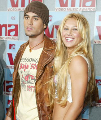 anna kournikova and enrique iglesias baby. Enrique Iglesias and Anna