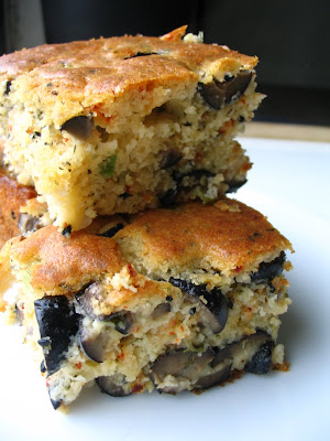The best to do seemed like baking a cake Black Olive Cake (Zeytinli Kek)