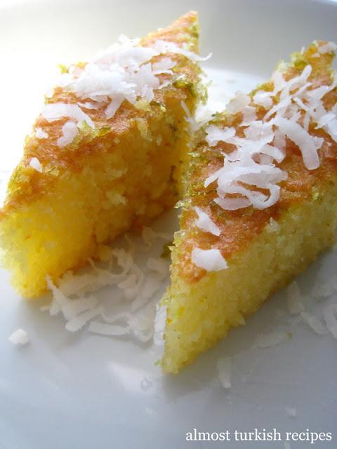 Semolina Sponge Cake (Revani)