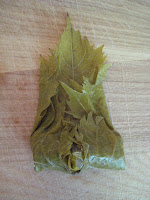 refers to a dish that can be prepared with grape Stuffed Grape Leaves with Groundmeat (Etli Yaprak Sarması)