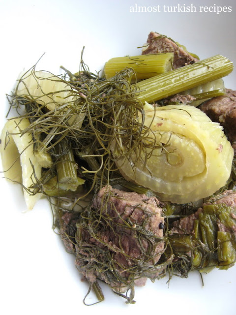 Fennel With Meat