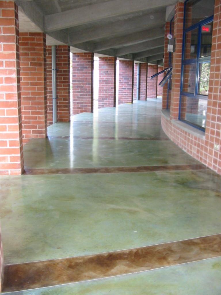 Enconcreto pisos entintados con acido - Que es un piso vinilico ...