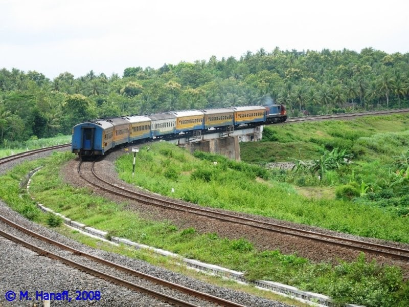 Kalimenur bridge on the spot ~ Blog Kereta Api Indonesia