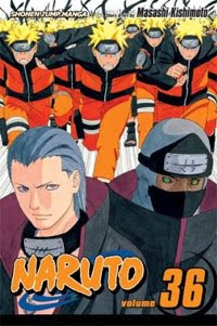Naruto Manga volume 36