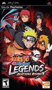 Naruto Shippuden: Akatsuki Rising on PSP