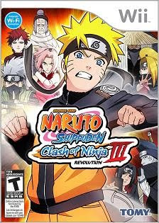 Naruto Shippuden: Clash of Ninja Revolution III on Wii