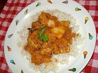CURRY CHICKEN WITH POTATOES