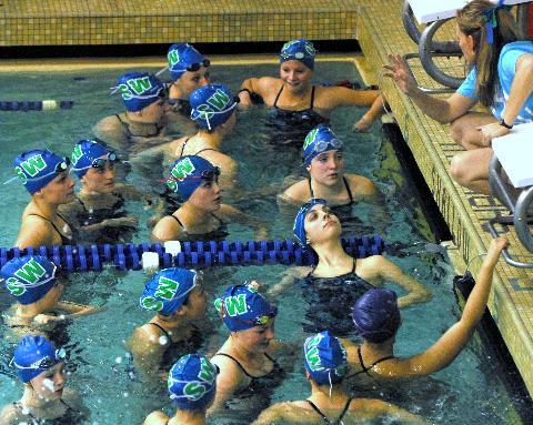 Shoreline Area News Shorewood Girls Swim Team At District