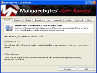 malware perform full-scan