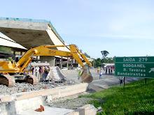 Rodoanel: pode ter sido falha, diz secretário de Transportes.Clique na imagem