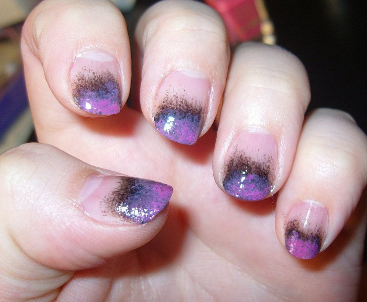 Easy Nail Designs with Sponge