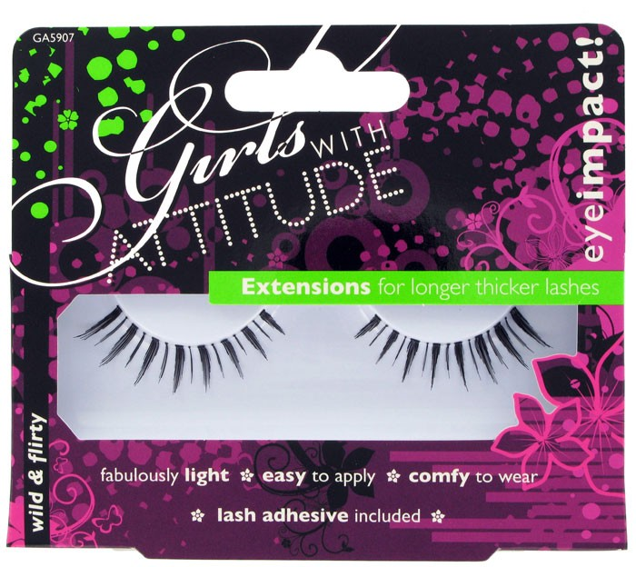 I was recently sent some products from Girls With Attitude, and included in