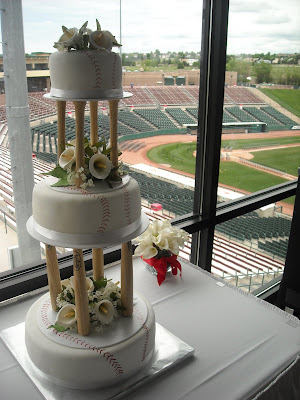 Top Baseball Wedding Cakes