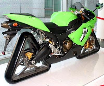 Kawasaki Ninja ZX-6R triangle