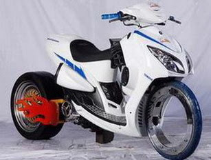 yamaha motorcycle -  mio modification contest