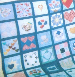 Here is my Love quilt from Quilchat girls