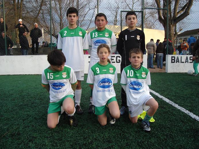 Equipa de 97/98 em Balasar. Dezembro de 2008