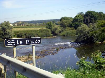 2009: percorso ciclabile lungo il bacino del fiume doubs