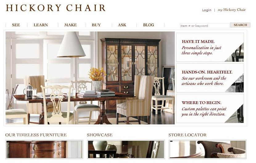 MADE By HICKORY CHAIR