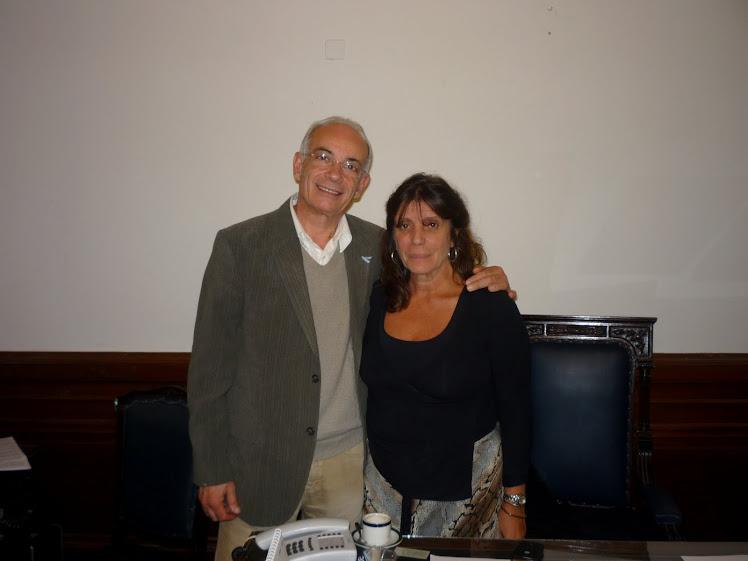 María Teresa García y Ricardo Fernandez