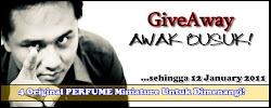 Giveaway Awak Busuk!