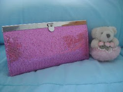 Mini GA: Pink Bling Bling Wallet