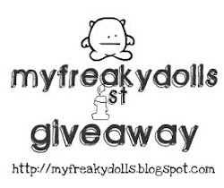 My Freaky Dolls 1st Giveaway