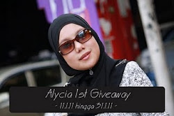 Alycia 1st Giveaway