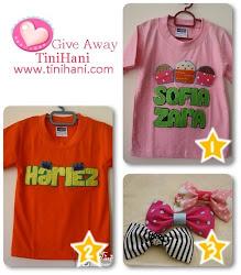 Giveaway 2010 dari TiniHani.com