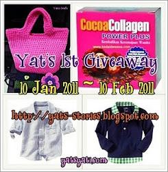 Yats 1st Giveaway