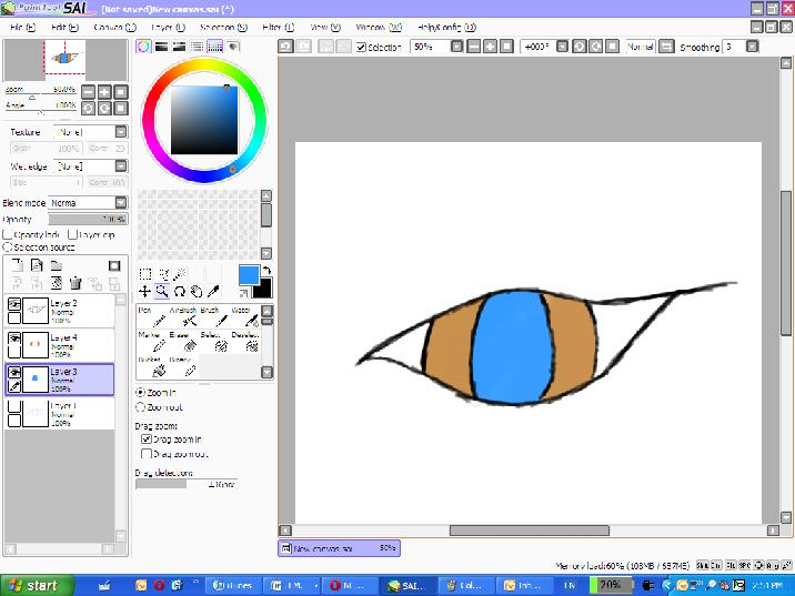 Thicken Lines Paint Tool Sai