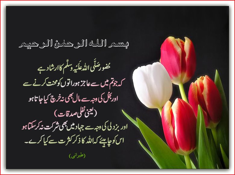 Beautiful Hadees in Urdu