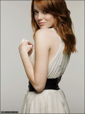 emma stone hair colour. 2011 emma stone hair color
