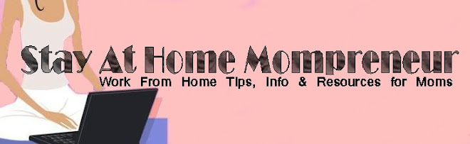 Stay At Home Mompreneur
