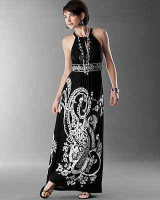 Black Strapless Maxi Dress on Black White Maxi Dress   Fashion Dresses