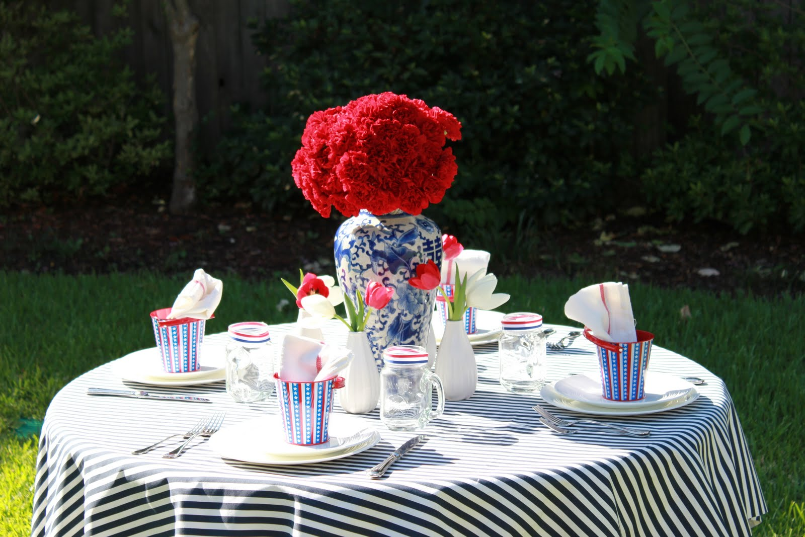 P is for Party: {Inspiration} My July Fourth Table Setting