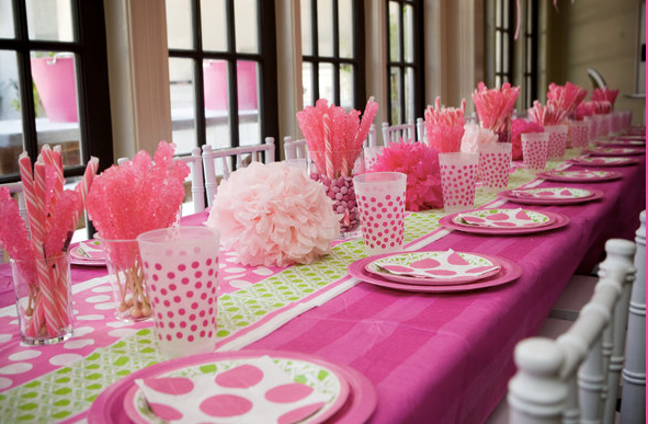 Pin table setting ideas