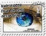 A amiga Maria Bonfá me deu esse selo com muito carinho