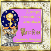 Curiosa selo de comemoração