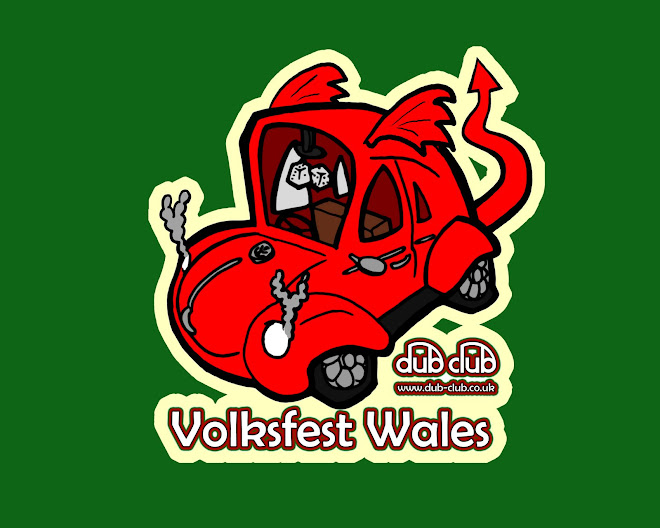 Volksfest Wales sticker design