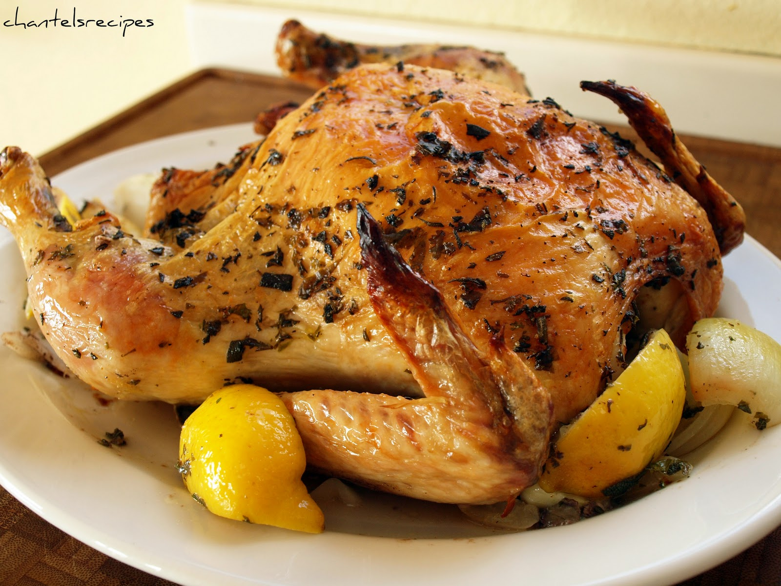 Baked Whole Chicken Recipes Whole Roasted Chicken Recipe